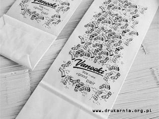 torby papierowe bez uchwytów z logo