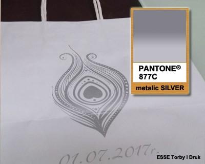 srebro - Pantone 877