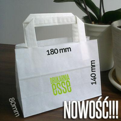 małe torby papierowe