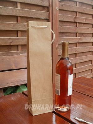 torby papierowe na wino