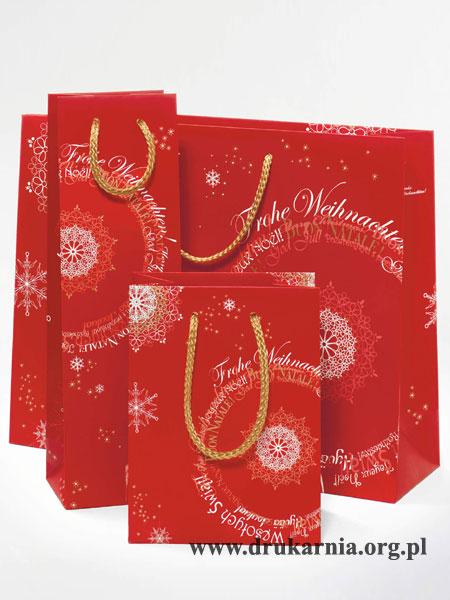 torby papierowe świąteczne