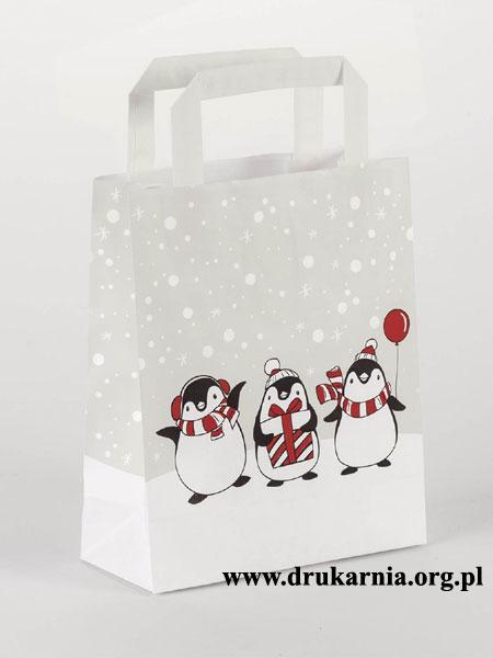 torebki papierowe świąteczne